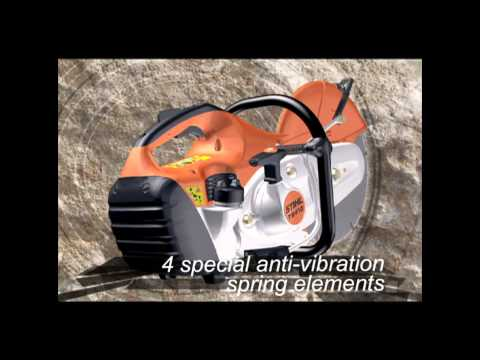 TS410 STIHL Cutquik® cut-off machine video