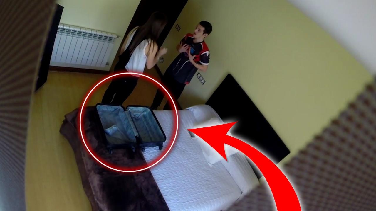 cámara oculta ex novia
