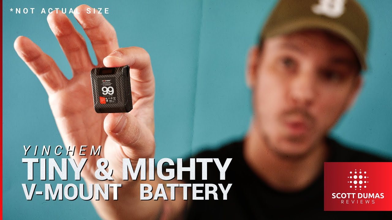 Download Yinchem 99Wh Mini V-Mount Battery   Tiny But Mighty