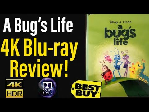 """Download """"A Bug's Life"""" (1998) 4K Blu-ray Review!"""