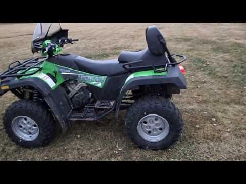Big Iron Auction 5-3-17 2005 Arctic Cat 500 TRV ATV