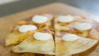 Smoked Chicken Quesadillas - #soeasy Recipe
