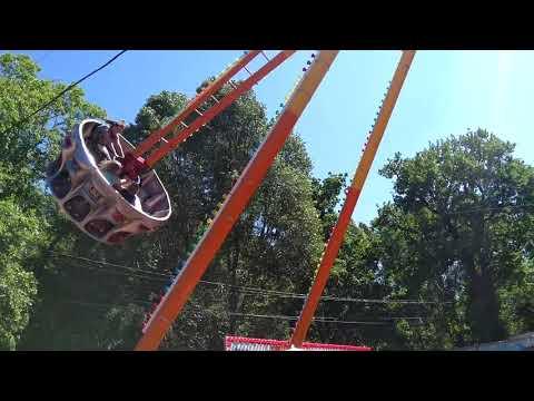 Летающая Тарелка в Самаре   Парк Три Медведя   Аттракцион