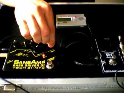 Erniel Ball Music Man Bongo + Sansamp Bass Driver + RC Booster Bass