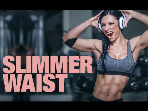 Exercises for a Smaller Waist (TIGHTER FLATTER STOMACH!!)