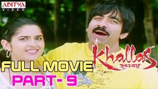 Khallas Hindi Movie Part 9/12 Raviteja, Richa Gangopadhay, Deeksha Seth - yt to mp4