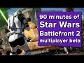 Let's Play Star Wars Battlefront 2 Multiplayer beta live - May the Force be with us!