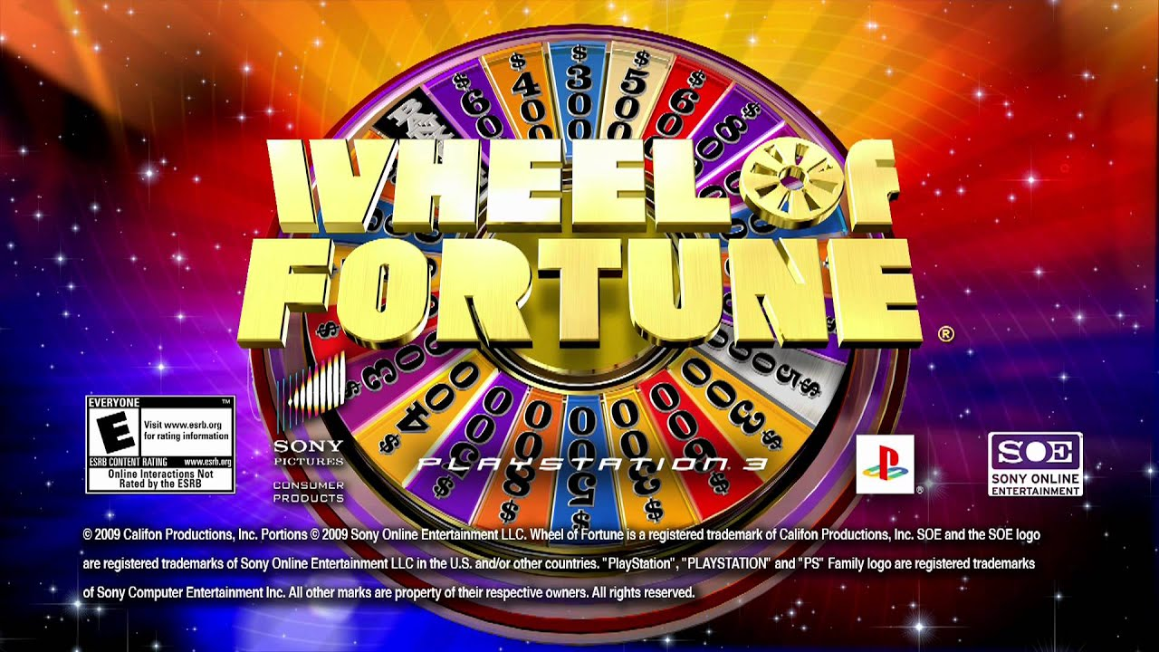 Wheel Of Fortune Hd Video Game Trailer Now On Playstation