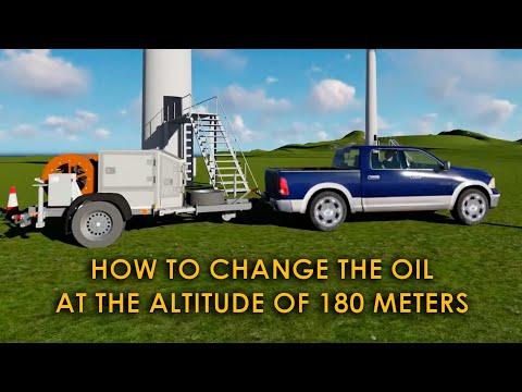 Gear Oil Changer CMM-G. Wind turbine oil change