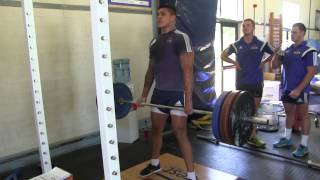Cape Rugby TV joins the WP Vodacom Cup Team Live Gym Training Session with JP Naude