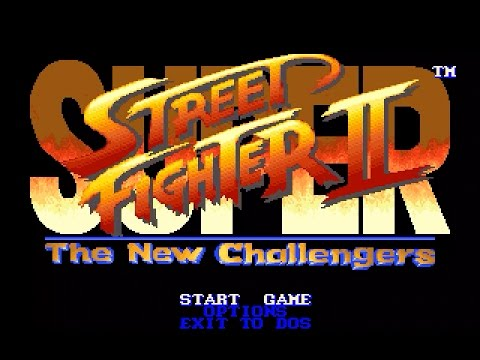 Ryu - SUPER STREET FIGHTER II for DOS