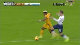 Adama Traoré vs Spurs  (Away) 29/12/2018 EPL