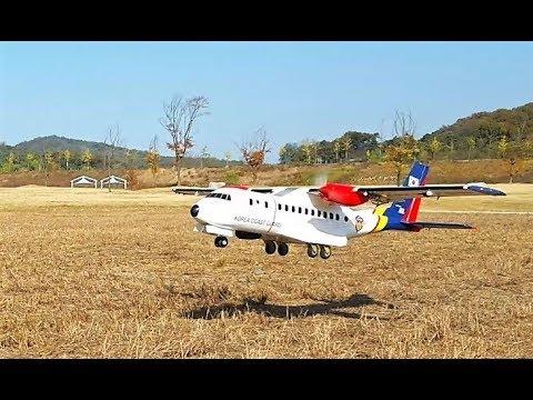 CN-235 Offroad field take off & landing
