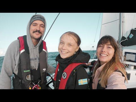 Sailing GRETA THUNBERG Across the North Atlantic Ocean!