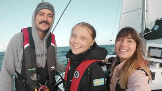 Sailing GRETA THUNBERG Across the North Atlantic Ocean!