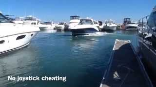 Speed Docking a twin Engine Boat