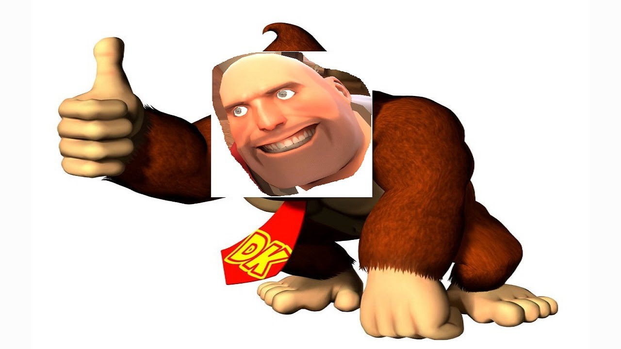 This is a graphic of Astounding Donkey Kong Picture