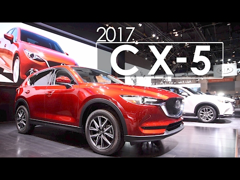 mazda update at the 2017 chicago auto show with russell