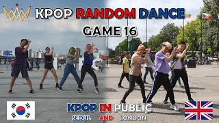 [KPOP IN PUBLIC] KPOP DANCE GAME 16 [UJJN] in SEOUL & LONDON