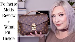 WHAT'S IN MY BAG | LOUIS VUITTON POCHETTE METIS REVIEW