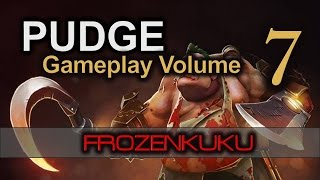 DOTA 2 | EPIC PUDGE!! | Frozenkuku Gameplay Volume 7