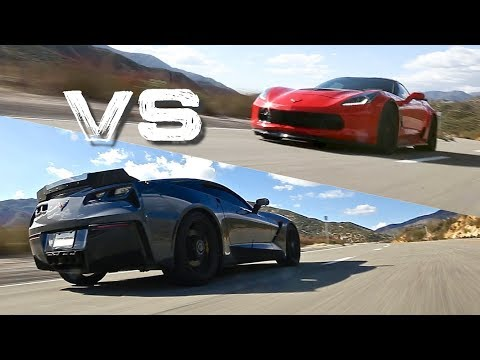 650 HP Corvette Z06 Vs. Stingray Z51 7-Speed Manual | Is Slower Sometimes Better?!