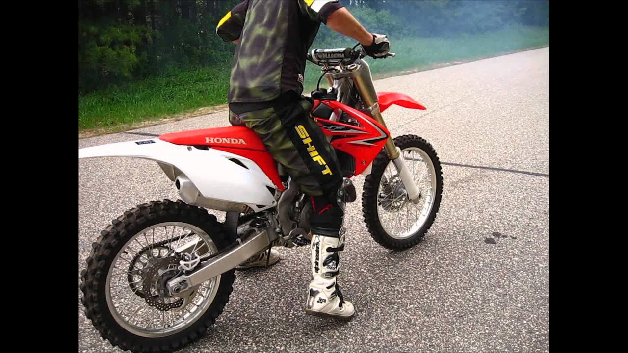 2010 Honda Crf450r Dirtbike First Test Youtube