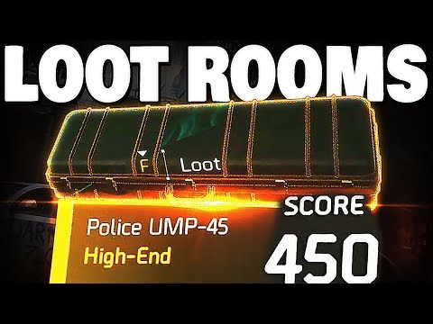 The Division 2 - ALL 6 HIDDEN LOOT ROOMS 500+ HIGH ENDS !!