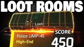 The Division 2 - ALL 6 HIDDEN LOOT ROOMS 450+ HIGH ENDS !!