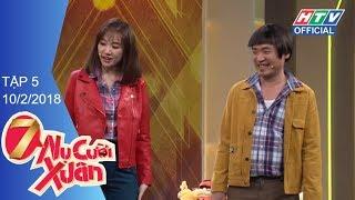 HTV 7 NỤ CƯỜI XUÂN | Diễm My 9X sợ bị gia đình 7 nụ