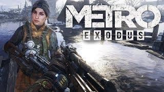 ЛЯ КАКАЯ ЖЕНА Metro Exodus day 2