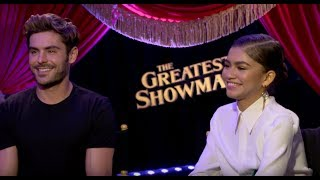 Zac Efron & Zendaya Are Acrobats In THE GREATEST SHOWMAN | Interview
