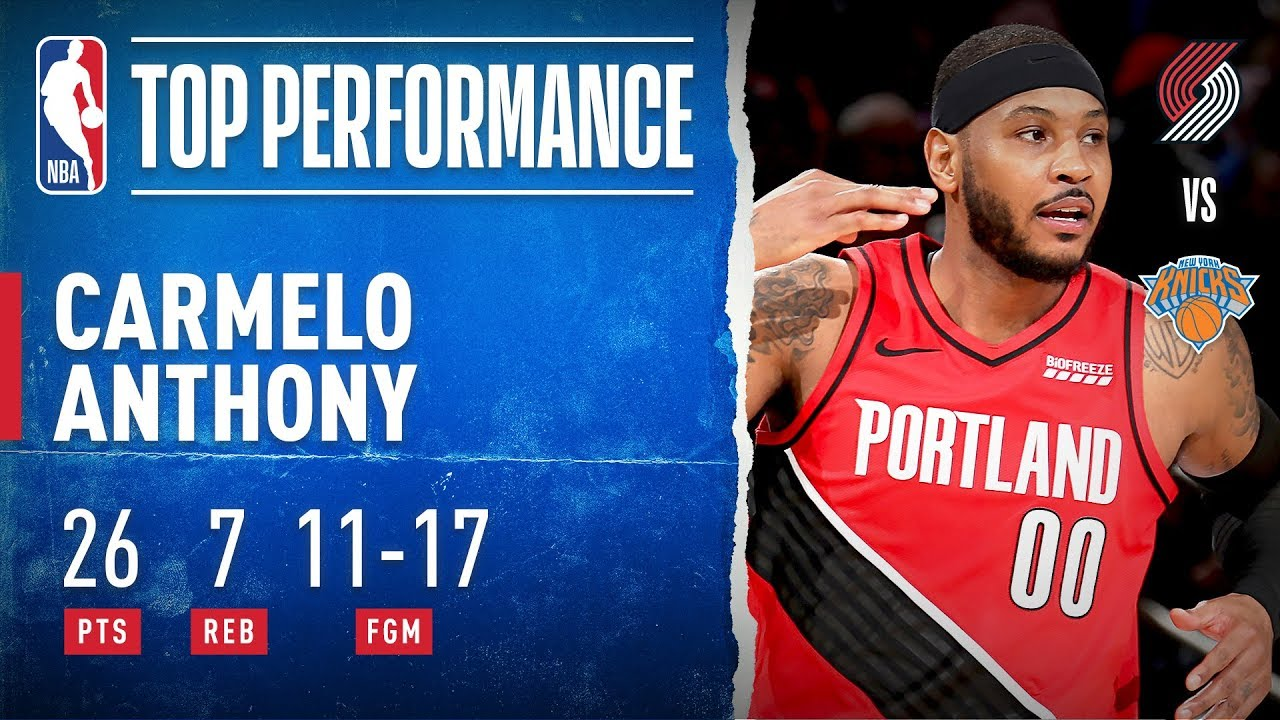 Melo Drops Season-High 26 PTS At The Garden