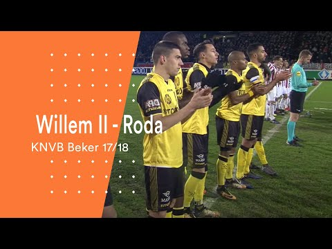 Highlights KNVB Beker: Willem II - Roda JC (1/2/2018)