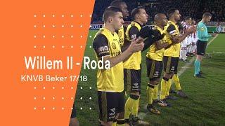 Highlights KNVB Beker: Willem II - Roda JC (1/2/2018)