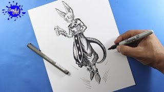 Como dibujar a bills l  how to draw bills  l Dragon ball Super