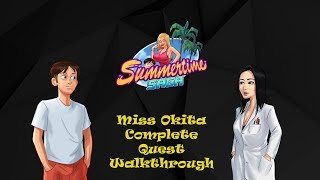 Summertime Saga v 0.15.30 || Miss Okita Complete Quest Walkthrough || 18+