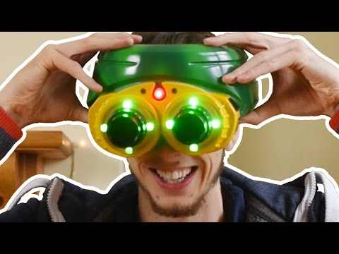 Jurassic Park Night Vision Goggles - Unboxing