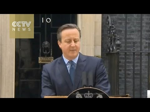 David Cameron announces referendum on June 23