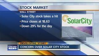 SolarCity Stocks Drop