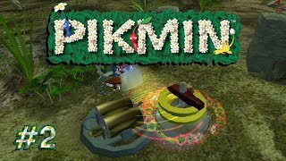 Pikmin - 2 - Struggle to the Navel