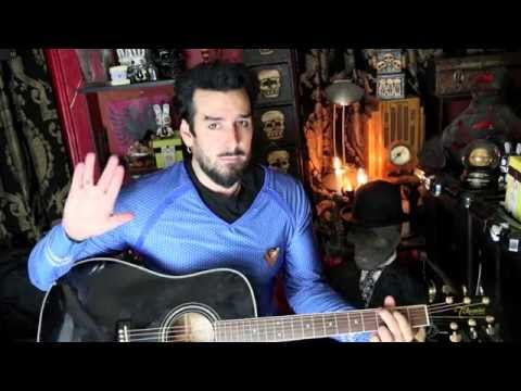Aurelio Voltaire -  Human Nature - World Premiere Song - wit