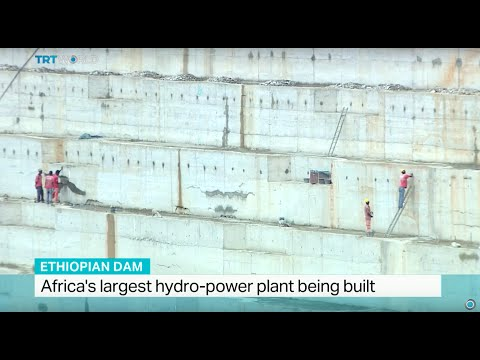 Africas largest hydro-power plant being built