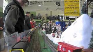 Atlantic Coast S Gaugers running trains at the George Washington Train Show