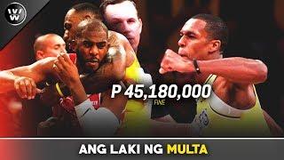 Nandura pala talaga si Rondo   Ang Bigat ng Parusa ng NBA
