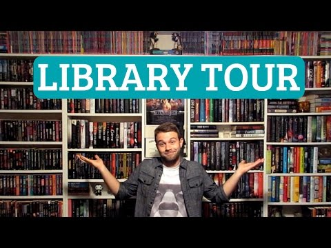 HUGE PRIVATE LIBRARY TOUR!