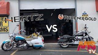 Be The Judge AMS Harley Road King Phoenix Gold vs AMS Road King Hertz Mille Pro