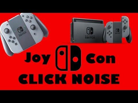 Nintendo Switch Joy Con Click Sound