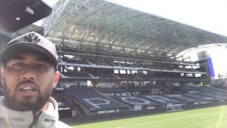 VLOG | Bill Tuiloma explores new Timbers locker room and Providence Park