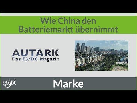 Wie China den Batteriemarkt übernimmt
